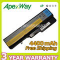 Apexway 6 cell 4400mAh laptop battery for Lenovo IdeaPad g460 g470 g560 57Y6454 57Y6455 L09S6Y02 LO9L6Y02 LO9S6Y02