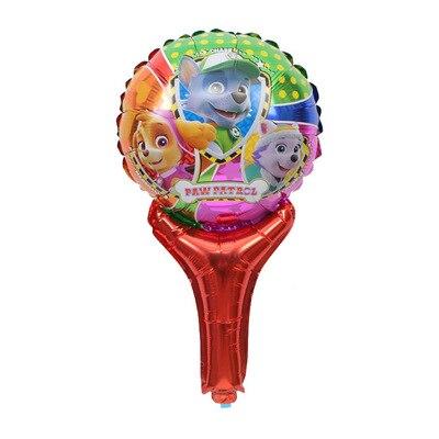 Хит, Paw Patrol, украшение на день рождения, фигурки, игрушки, Щенячий патруль, воздушные шары, вечерние, декор для комнаты, Чейз, Маршалл, баллон, детские игрушки для девочек - Цвет: E