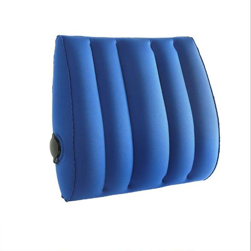 TPU inflatable lumbar cushion for outdoor traveling car lumbar cushion vehicle-mounted lumbar cushion + office lumbar cushion