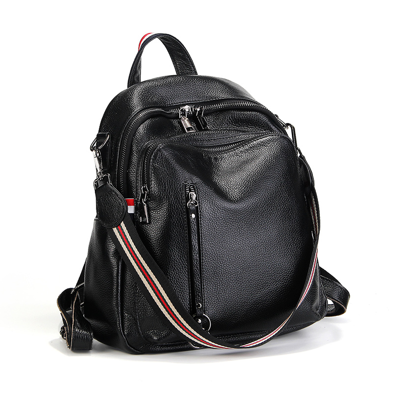 Fashion 100% Genuine Leather Women Backpack High Quality Real Leather Backpacks For Girls Travel Bag Casual Knapsack #LF88039Fashion 100% Genuine Leather Women Backpack High Quality Real Leather Backpacks For Girls Travel Bag Casual Knapsack #LF88039