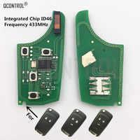 Tablero de circuito electrónico QCONTROL de coche llave remota para Chevrolet Cruze Malibu Aveo Spark Sail 433MHz Fob