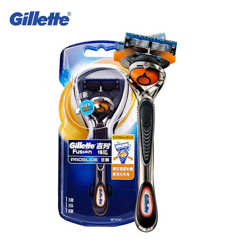 Straight Manual Razor Gillette Fusion Proglide Shaving Hair Removal Razors For Men Beard Shaver Safety Original Razor Blades 1pc 5pcs razor blades with 1pc shaving handle for men s face care hair removal quality manual shaving machine safty razor blades