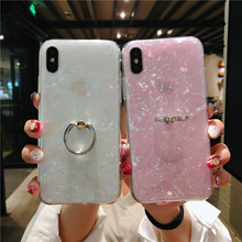 Soft TPU Glitter Phone Case For iPhone 7 8 Dream Shell Patte