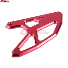 CNC Rear Disc ROTOR Brake Guard cover Protector for CR 125 250 CR125 CR250 CRF250 CRF450 CRF250X CRF450X front disc disk brake pump caliper for honda cr125 cr250 crf250 crf450 x r brake caliper with carbon fiber pads