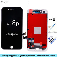 100 AAA Quality LCD Assembly For IPhone 4 6 LCD Display With Touch Screen Digitizer For