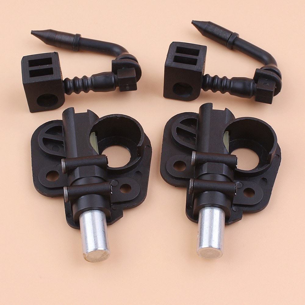 2Pcs/lot OIL PUMP INFEED PICK UP FOR PARTNER 20X 350 351 352 370 371 390 391 401 420 422 POULAN 1950 2025 2050 2075 Chainsaw