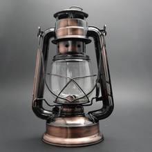 31cm de altura, lámpara Vintage de queroseno, linterna de luz de emergencia que recuerda a las luces de Camping al aire libre, 28 24 19,5 cm están en otro artículo