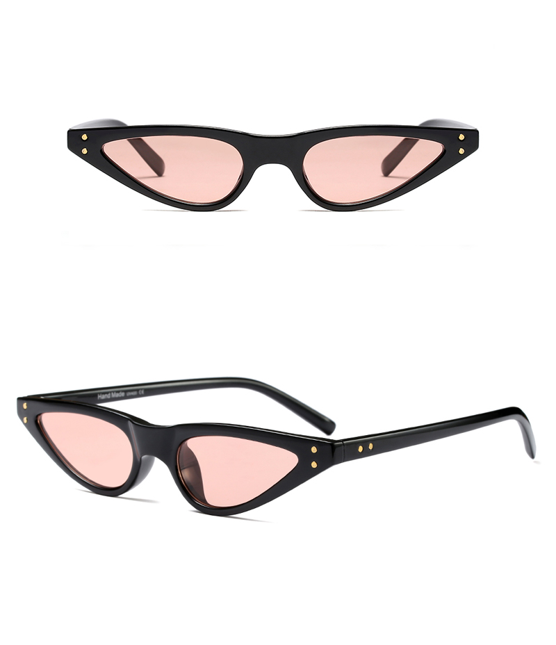 small sunglasses women cat eye vintage 9175 details (6)
