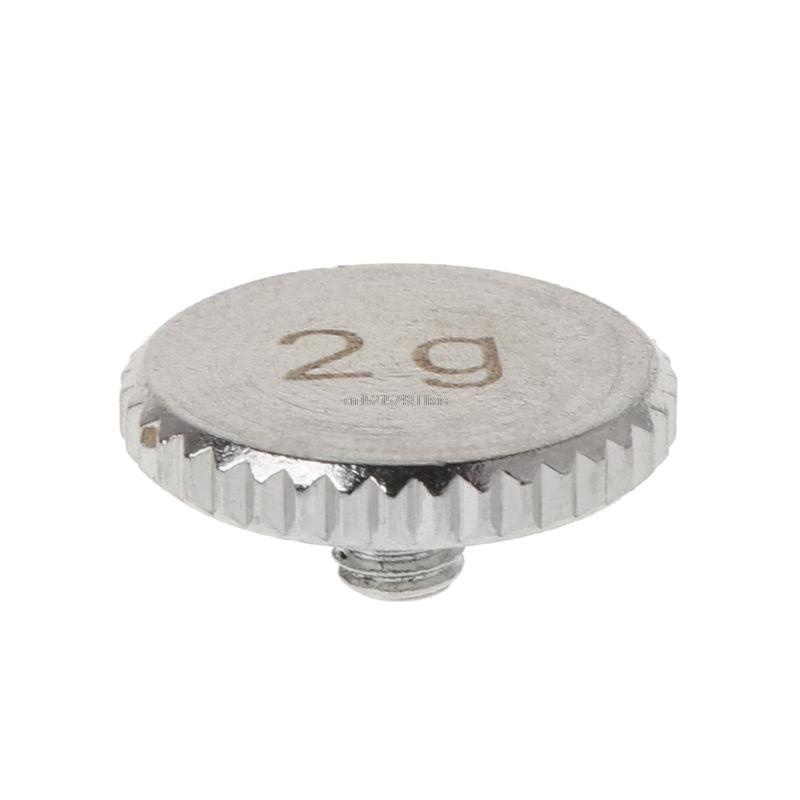 Хедшелл 4 г 2 г оболочка вес поворотный стол металлический Электрический инструмент Запчасти для SL1200 SL1210 MK 2 3 5 M5G стилус DJ