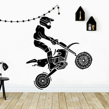 Pretty Riding Waterproof Wall Stickers Art Decor For Kids Rooms Home Pvc Decals