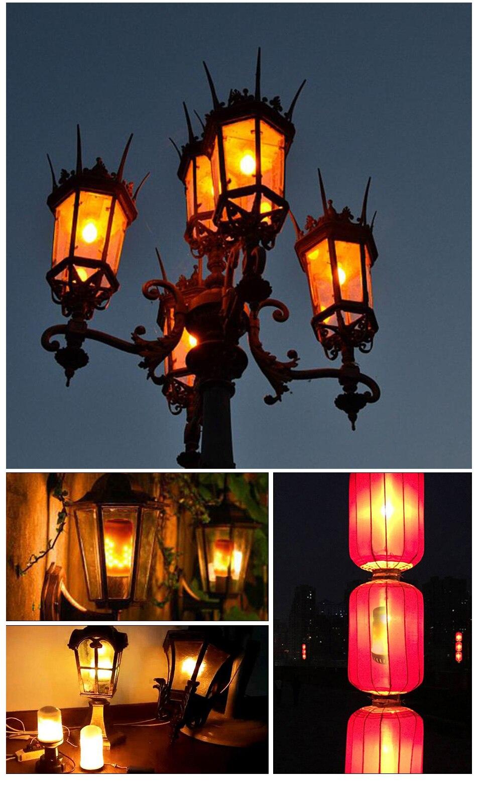 LED Flame Lamp Solar Waterproof Lawn Light Dancing Flickering Torch Lights Garden Outdoor Landscape Decorative Path Lighting (15)
