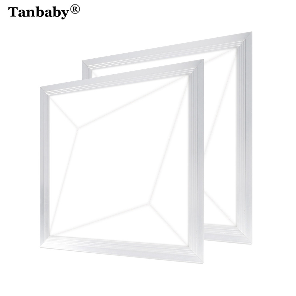 Tanbaby 3D Effect 18W Square LED Panel Light Warm White/ White LED Downlight Ultra Thin LED Panel Lamp Foyer Kitchen AC90-260V стоимость