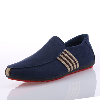 Flock Breathable Men's Driving Footwear