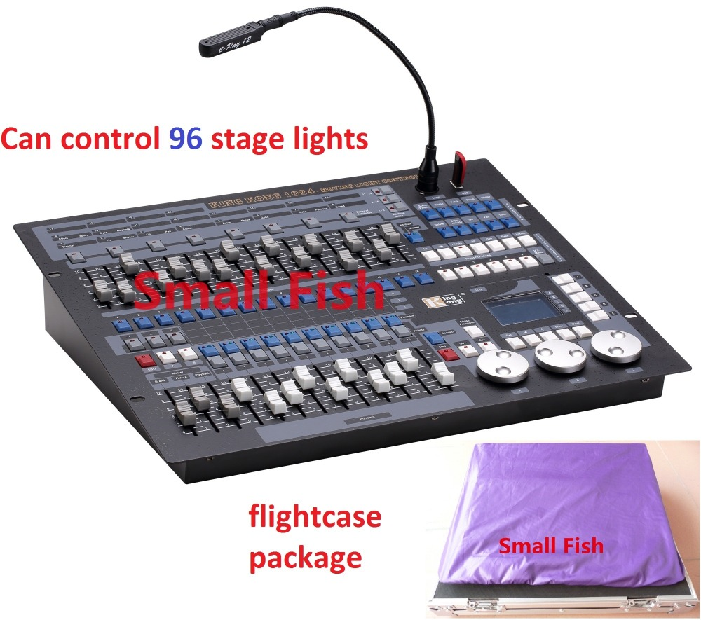 Original King Kong 1024 DMX Lighting Consoles Engineering Professional Stage Lights Pearl Avolite Controllers DJ Disco Equipment