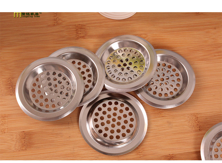 1pc Kitchen S/steel Sink Strainer Waste Disposer Plug Drain Stopper Filter Bathroom Accessories Linear Basin Cover Kc 1404 Delicacies Loved By All Kitchen,dining & Bar Colanders & Strainers