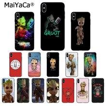 MaiYaCa Guardians of the Galaxy Groot Customer High Quality Phone Case