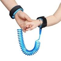 Criança pulso coleira Ajustável Cinto De Segurança Crianças Crianças Da Criança Do Bebê Banda Anti Lost Link pulseiras de Corda de Tração de segurança para crianças