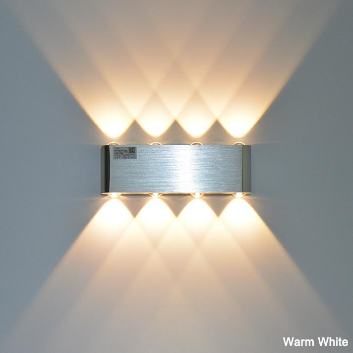 Lâmpadas de Parede quarto led frio/quente branco amarelo/colorido Tensão : 90-260v