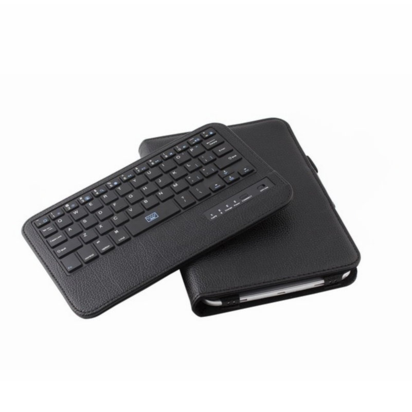 все цены на Wireless Bluetooth Keyboard With Tablet Case For Samsung Galaxy Note 8inch N5100 Removalbe Keyboard PU Leather Case Cover Shell онлайн