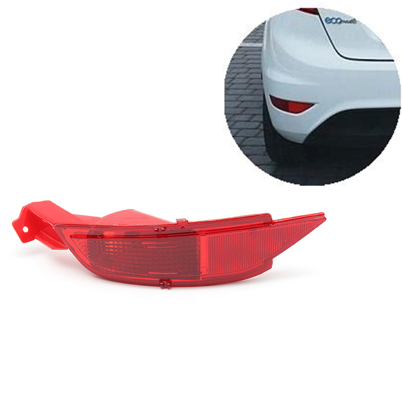 Car Right/Left Hand Tail Rear Bumper Reflector Lamp Brake Light Rear Fog Lights For Ford/Fiesta Mk7 2008-2012 geely emgrand 7 ec7 ec715 ec718 emgrand7 e7 car right left taillights rear lights brake light original