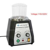 KT100 Mini Magnetic Tumbler Magnetic Polishing Machine Diamond Polishing Tumbler Gemstone Polishing Tumbler 110 220V 1PC