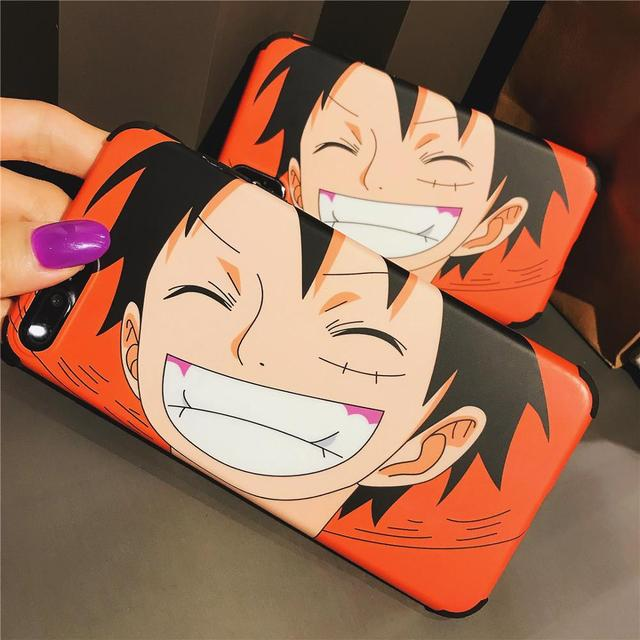 One Piece Luffy Anti-drop soft Mobile iPhone
