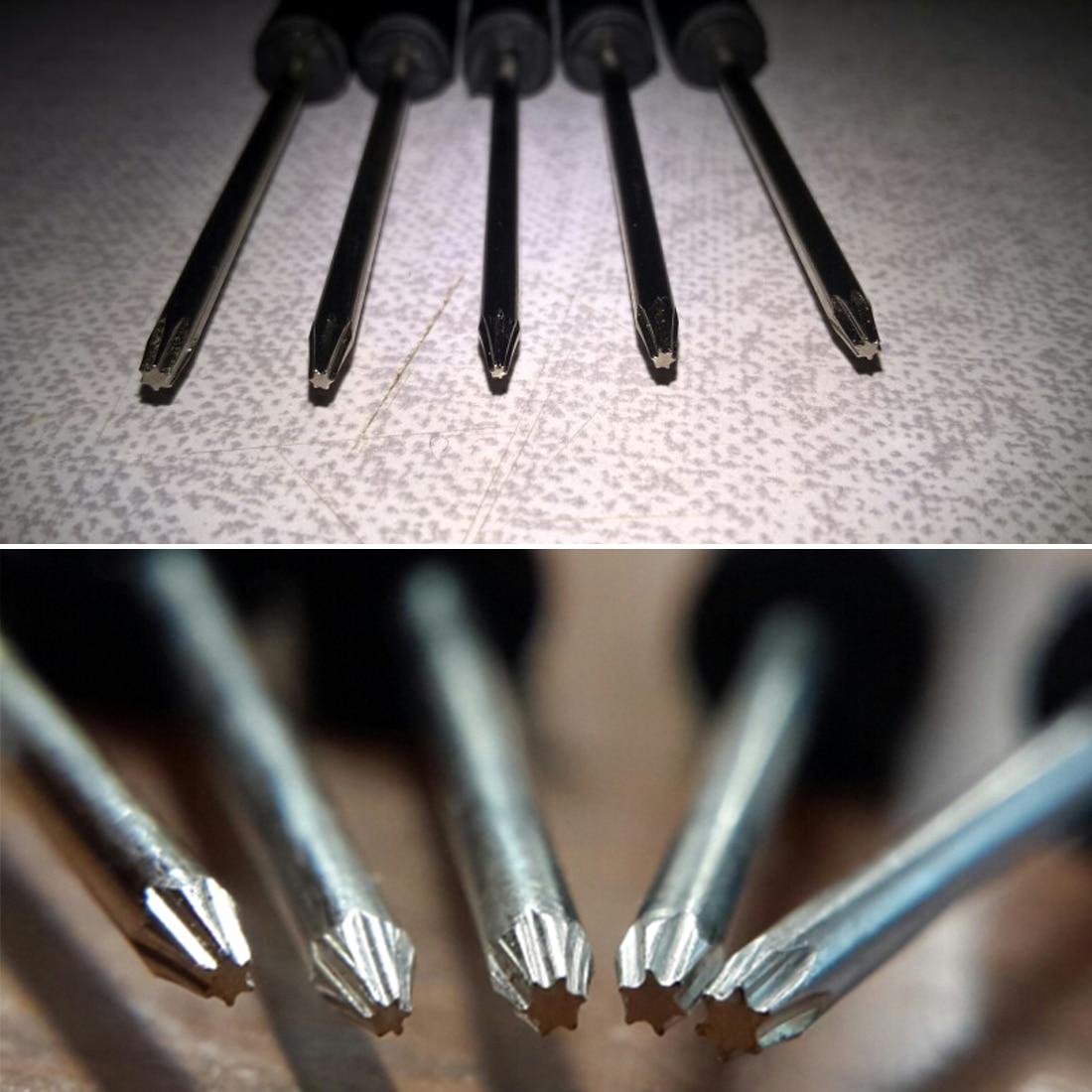 5pcs Precision Torx Screwdriver Set T2+T3+T4+T5+T6 For Mobile Phones Repair Tool