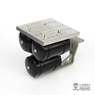 LESU Metal LED Light Box CNC Shine Resistance Cover 1//14 Scale RC TAMIYA Tractor