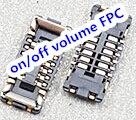 20 шт./лот для iPhone 6 S 4.7 J4700 on/off громкости FPC разъем На Материнской Плате
