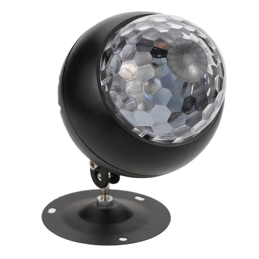 Волновой эффект пульсация проектор светодиодный сценический свет 10 Вт 3 режима с RGB контроллер 5-12 в ЕС/США/Великобритания Разъем для дискотеки Вечерние развлечения