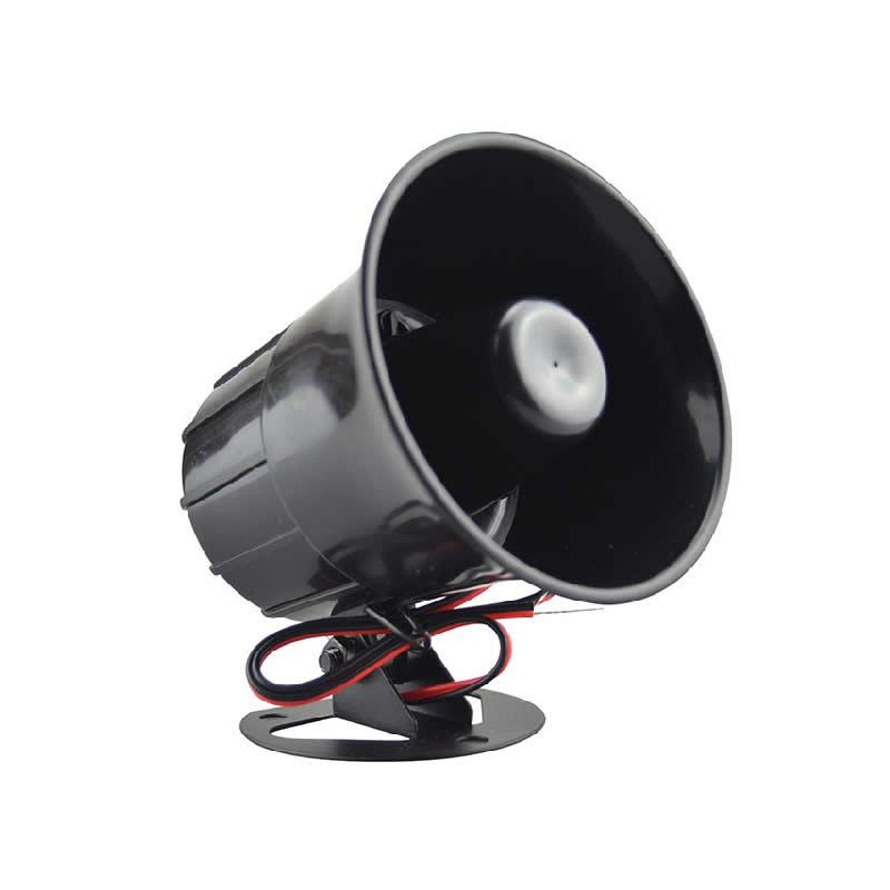 DONPHIA Alarm Siren Horn Esterno Con Staffa Per La Casa Sistema di Protezione di Sicurezza Sistemi di Allarme DC 12 V suoni la sirena ad alta voce