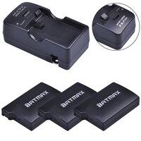 3Pcs Per PSP-1000 PSP 1000 Batteria 3.6V 3600mAh + Caricabatteria per PSP 1000 Playstation Sony PSP1000 Batteria