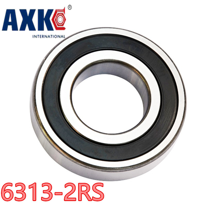 1pcs bearing 6313-2Z 6313-2RS 65x140x33  Shielded Deep groove ball bearings Single row High Quality bearings single row 8mm x 16mm x 5mm deep groove ball bearing for electric hammer 26