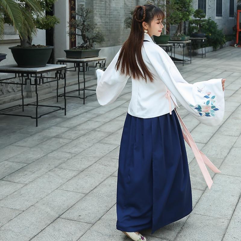 Fee Kostuum Dames.Hanfu Dames Lied Fringing Kostuum Kleding Hanfu Vrouwelijke Zomer Fee Kostuum Outfit Gemodificeerde Hanfu Etnische Kostuums Wind In Hanfu Dames Lied