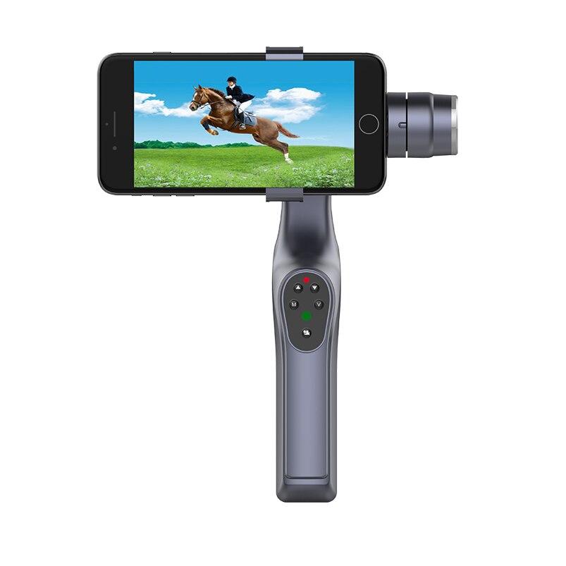 Upgrade JJ-1S Selfie Brushless Handheld Phone Stabilizer 330 Degree Smartphone Gimbal Holder Mount