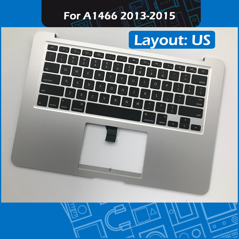 """Laptop Topcase with US Keyboard 069 9397 23 for Macbook Air 13"""" A1466 Top case Palmrest Replacement 2013 2015 Year EMC2632/2925-in Laptop Bags & Cases from Computer & Office    1"""