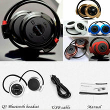Bluetooth Wireless Headset Stereo Earphone Sport Handfree Universal