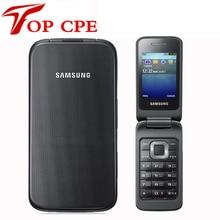"""Samsung C3520 разблокированный мобильный телефон флип 2,4 МП черный/серебристый/розовый цвет """"1 год гарантии"""