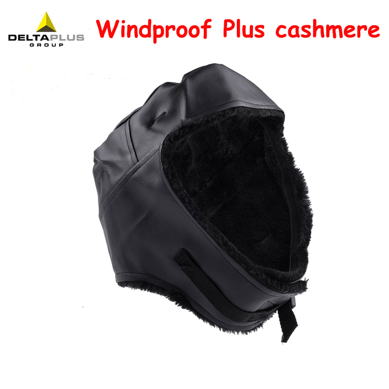 DELTA PLUS winter Cold helmet Lining Windproof Cold Keep warm Moisturizing helmet Lining Outdoor homework Keep warm Wearable hat