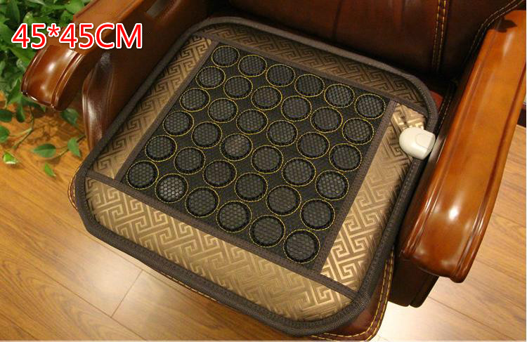 Jade cushion ms tomalin electrical electrical heating office boss chair cushion sofa cushion for leaning on 45 * 45 cm 240337 ergonomic chair quality pu wheel household office chair computer chair 3d thick cushion high breathable mesh