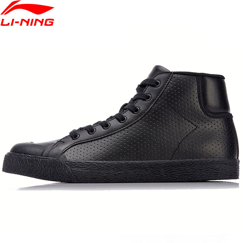Li-Ning New 2018 Men Shoes UNDERDOG Walking Shoes Mid-Cut Wearable Li Ning Sports Shoes Anti-Slippery Stylish Sneakers AGLN051 brutto brutto underdog