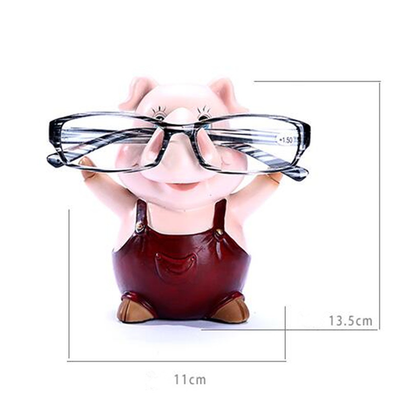 Occhiali a forma di maialino, Glasses Holder/Stand
