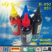 100ML 4 Dye Refill Ink Specialized Suit For Hp 950 951 Cartridge Refill Ink Suit For