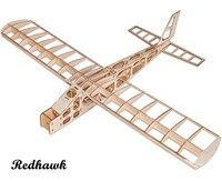Rc طائرة الليزر قطع خشب البلسا طائرة ثابتة الجناح ممارسة machframe دون غطاء جناحيها 1300 ملليمتر البلسا الخشب نموذج بناء كيت