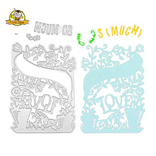 LOVE Letter Metal Cutting Dies New 2019 for Craft Scrapbooking Album Card Making Embossing Die Cut Decor