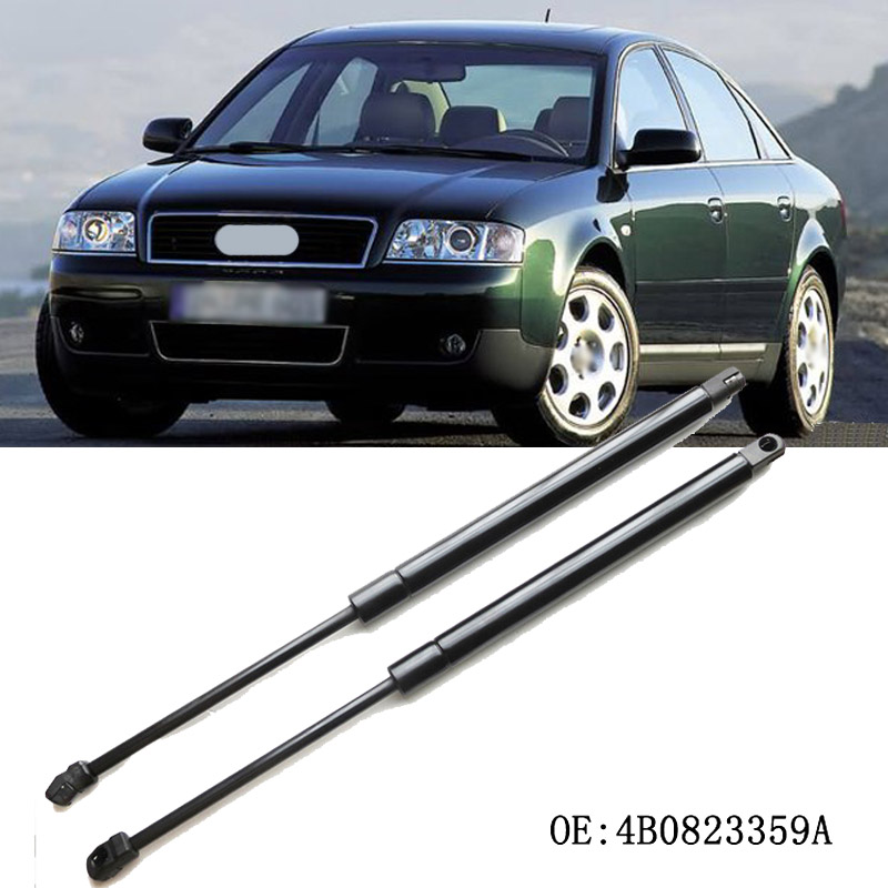 Pair Tailgate Rear Boot Gas Struts Holder For Audi A6 Avant C6 Estate 2005-2011