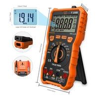 LOMVUM NCV Digital Portable Digital Multimeter 6000 counts AC/DC Voltage Meter Voltmeter Tester Meter Handheld LED Large Screen