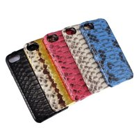 20pcs DHL Luxury Genuine Real Leather Case For IPhone 7 7 Plus Cover 3D Python