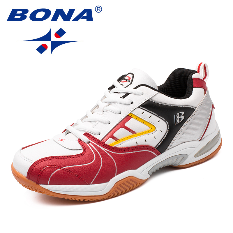 BONA New Arrival Classics Style Men Tennis Shoes Lace Up Men Athletic Shoes Outdoor Jogging Shoes Comfortable Free Shipping