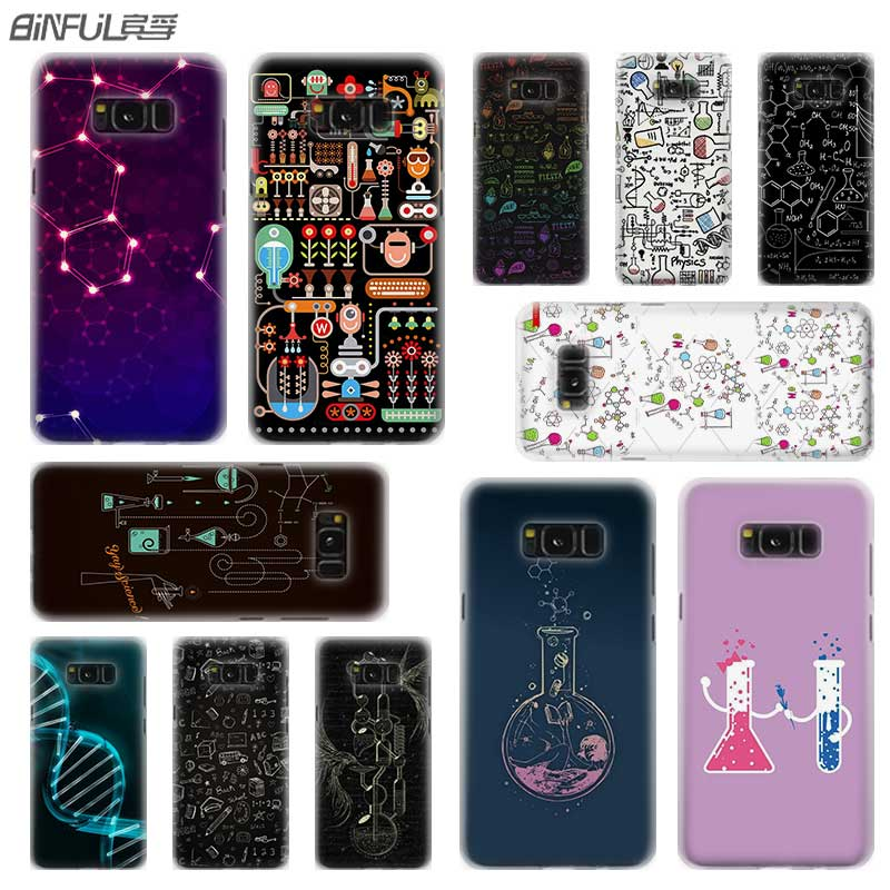 BINFUL Transparent Samsung S9 Note-10 For Galaxy S5 S8 S7 S6 S4 S10/edge-Plus Note-10/Pro/9/..
